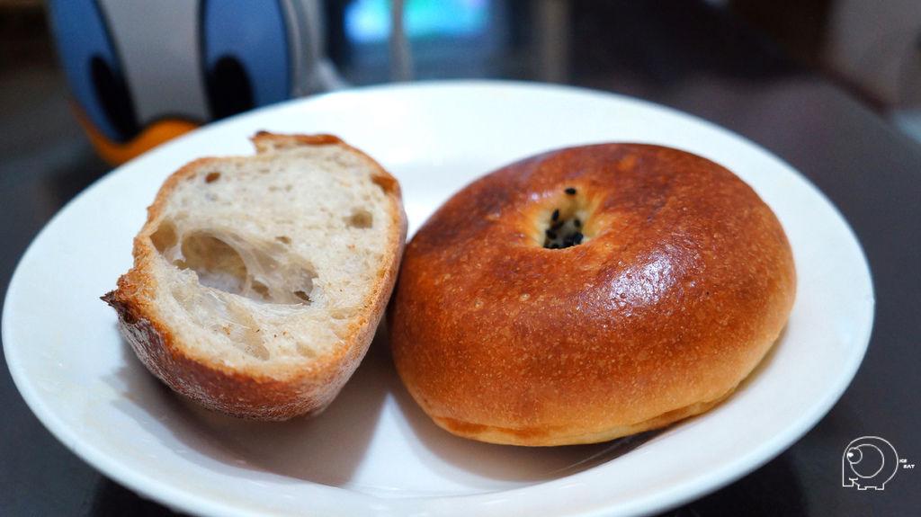 法國麵包&日式紅豆麵包