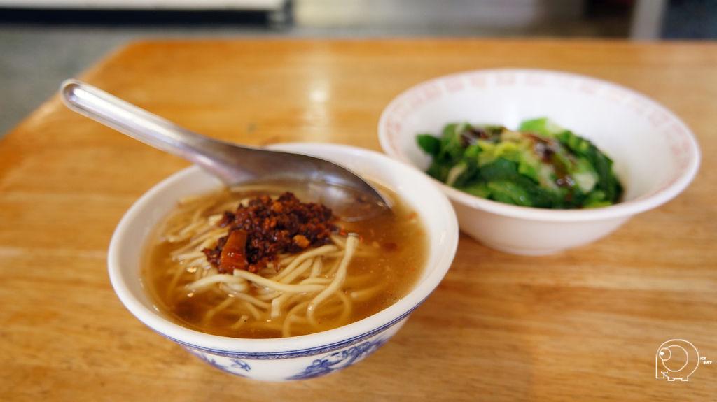担仔麵&青菜