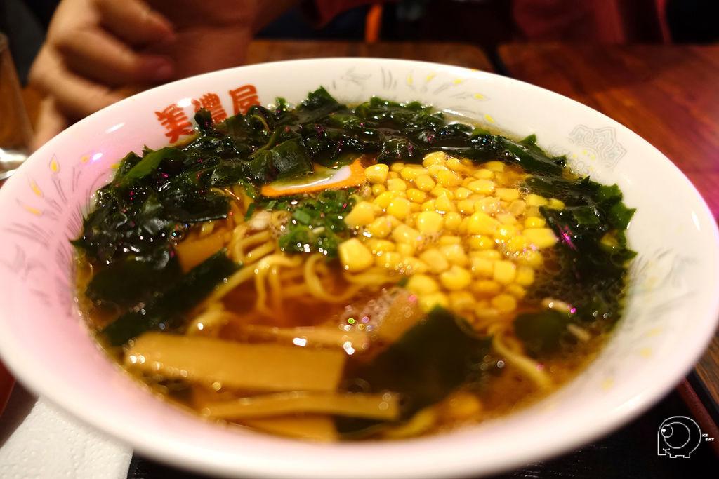 海藻玉米拉麵