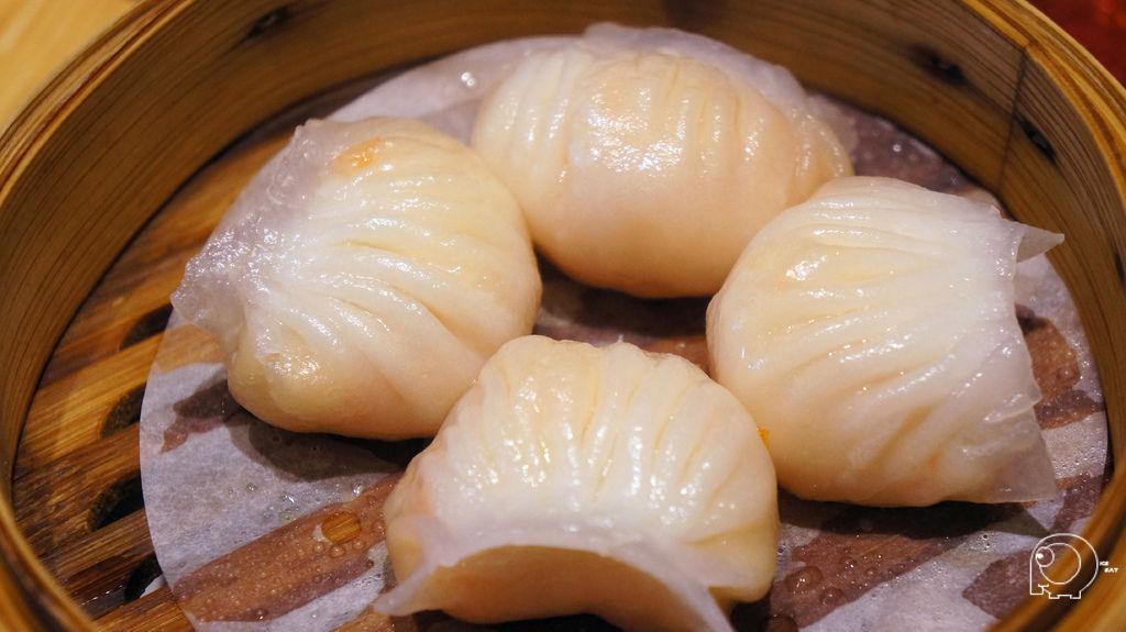 晶螢鮮蝦餃