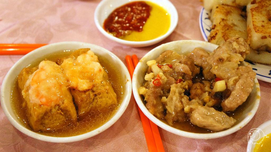 蝦仁豆腐&鼓汁排骨