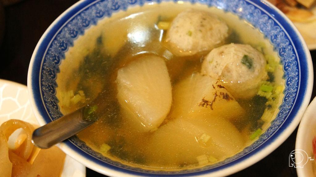 菜頭魚丸湯