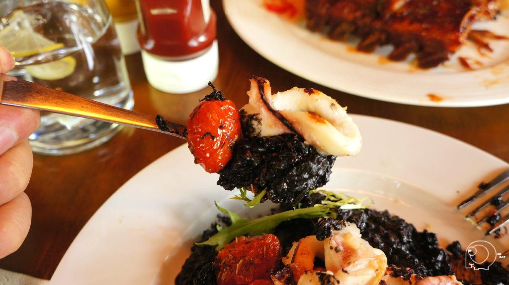 西西里墨魚燉飯