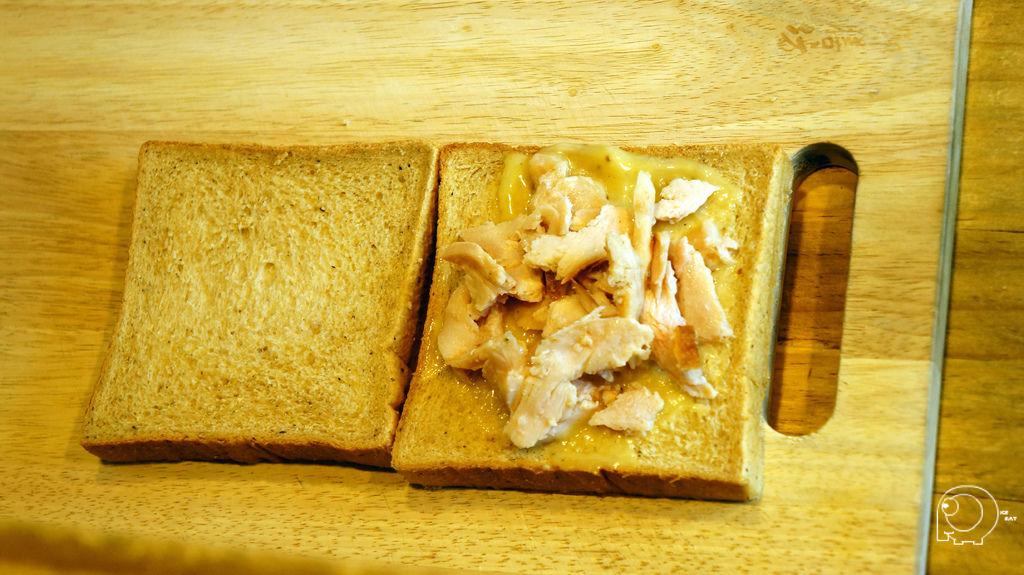 蜂蜜芥末雞肉帕里尼