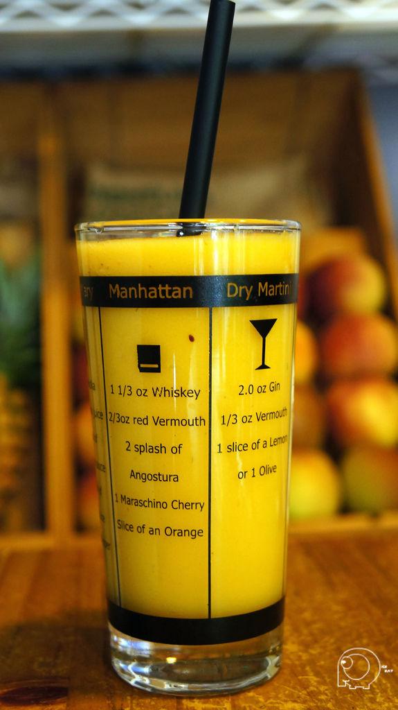 芒果鳳梨汁