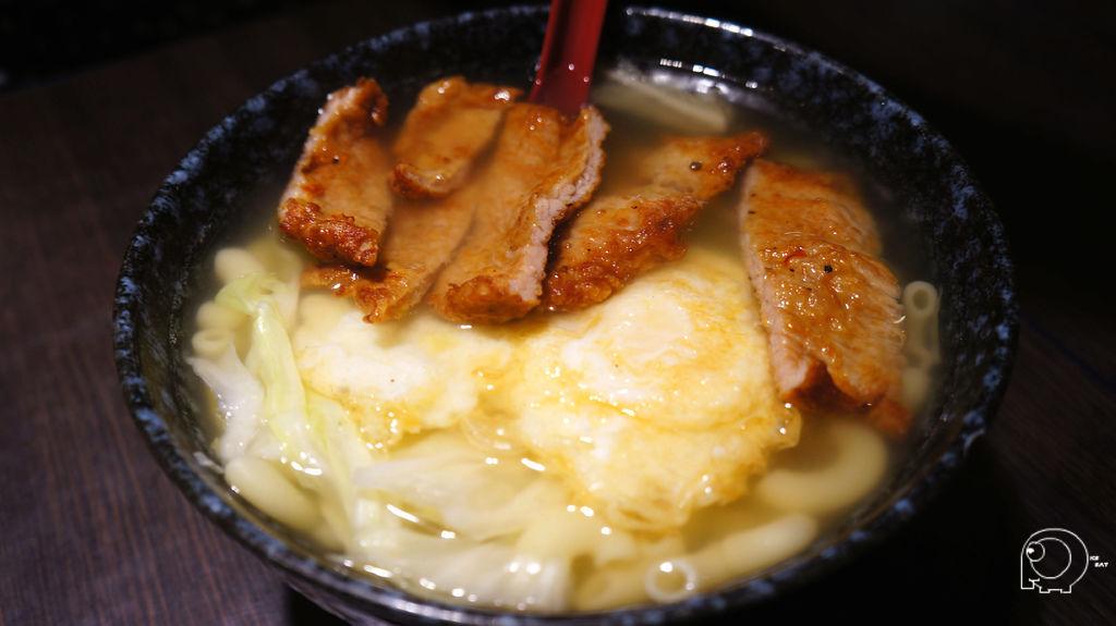 豬排雞蛋湯通粉