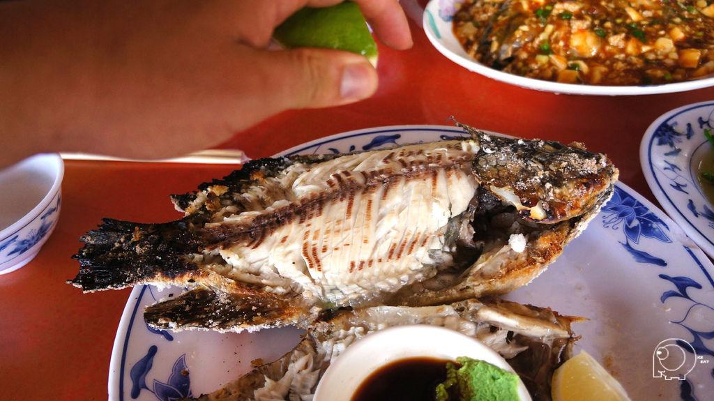烤鹽巴原味魚