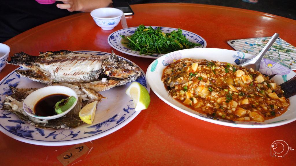 二種魚料理