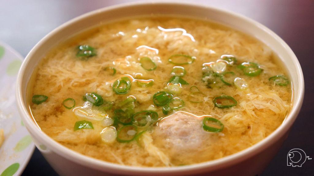 味噌湯加蛋加貢丸