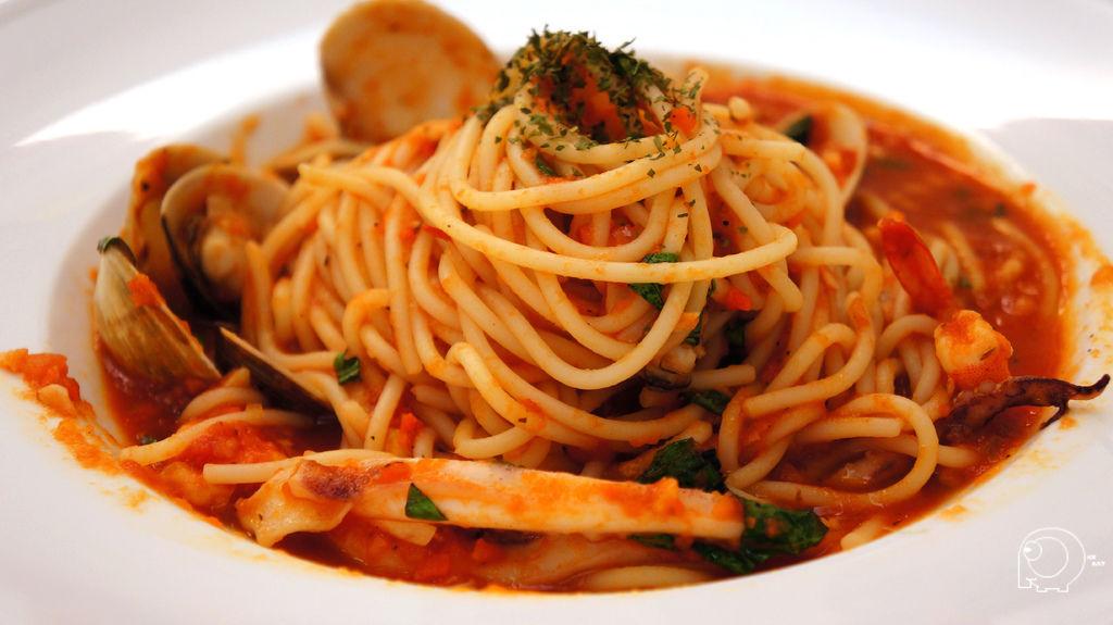 紅醬綜合海鮮