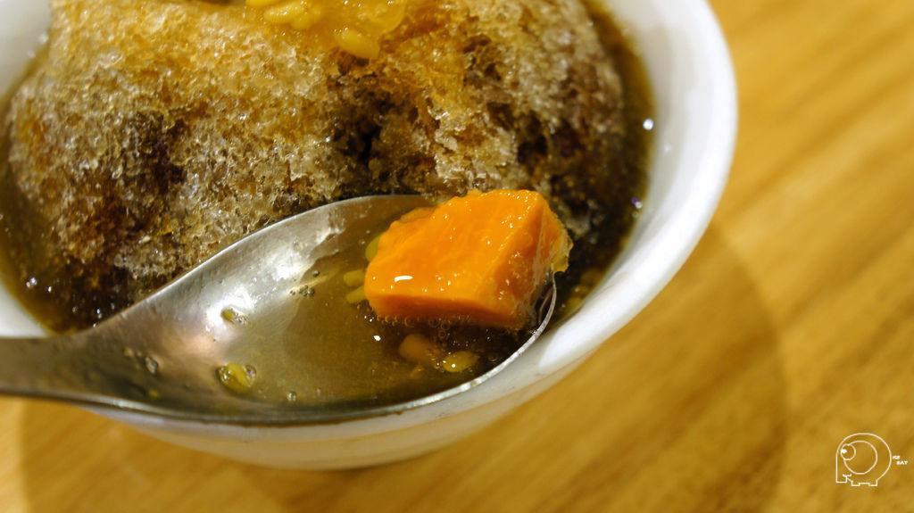 剉冰綠豆蒜