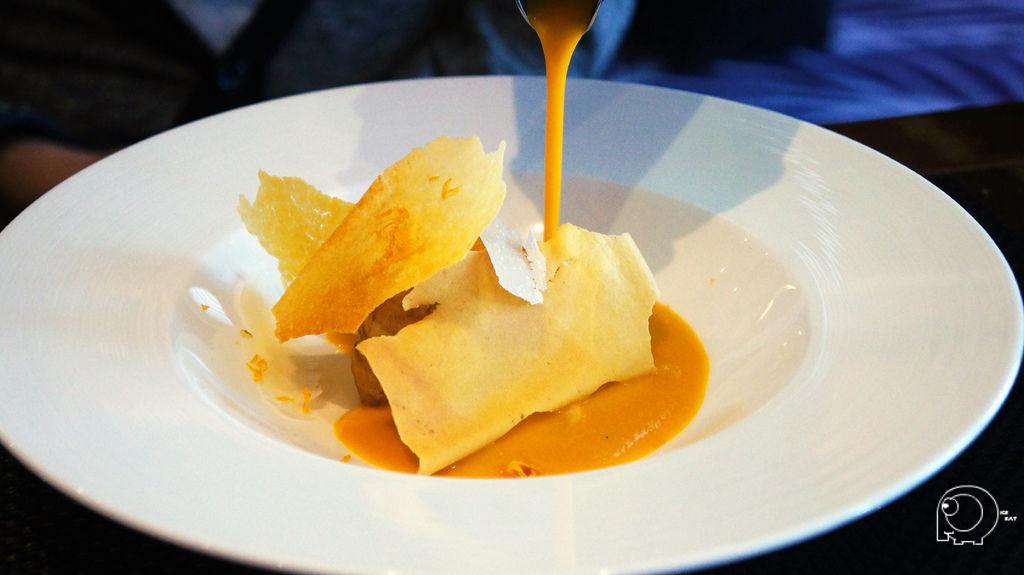 焦化南瓜襯乳酪辛香風味伊比利