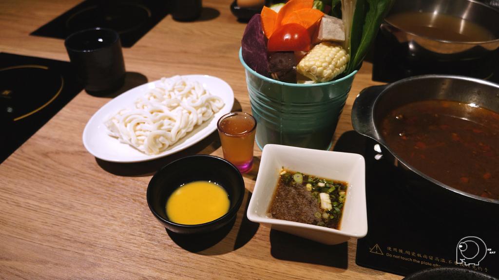 菜盤&沾醬