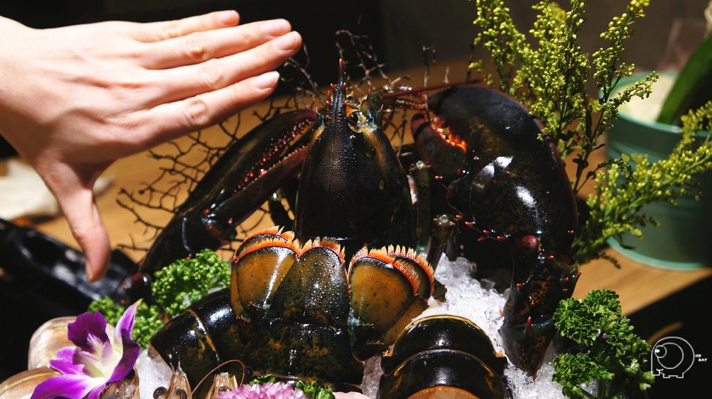 波士頓龍蝦+海鮮拼盤