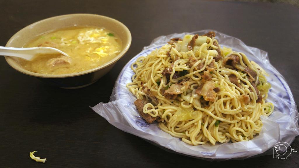 牛肉炒麵&綜合湯