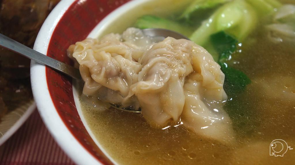 鮮蝦雲吞湯