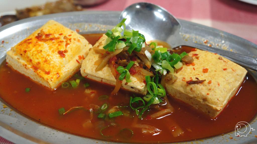 紅油臭豆腐