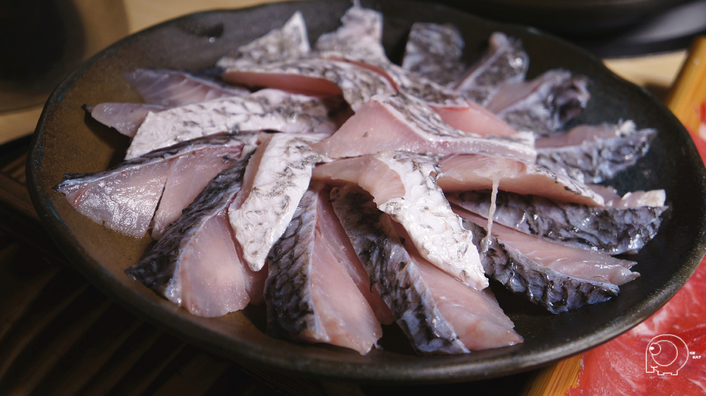台灣手切鱸魚魚片鍋