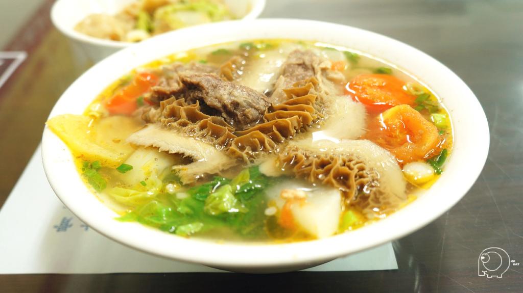 果香清燉牛雙寶麵
