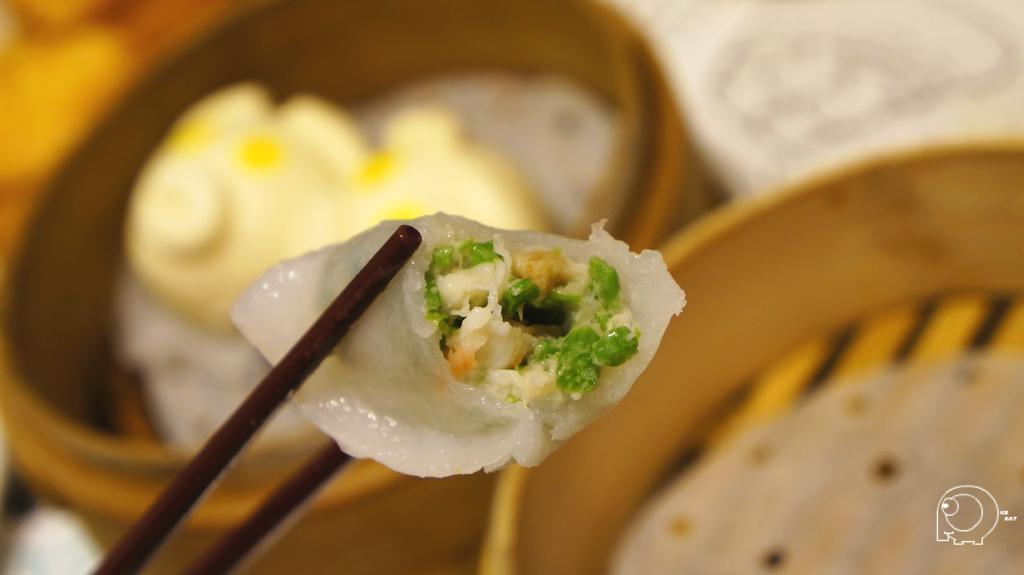 鮮蝦菜苗餃