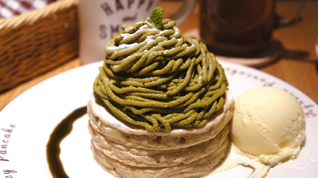 九州抹茶蒙布朗鬆餅