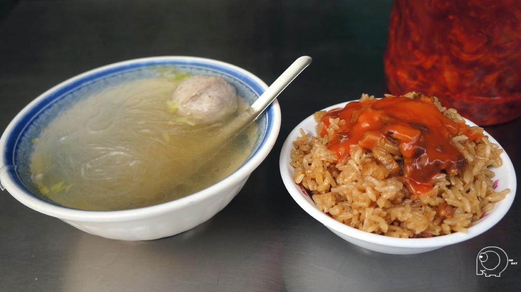 油飯&貢丸冬粉湯