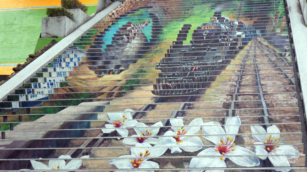3D彩繪樓梯