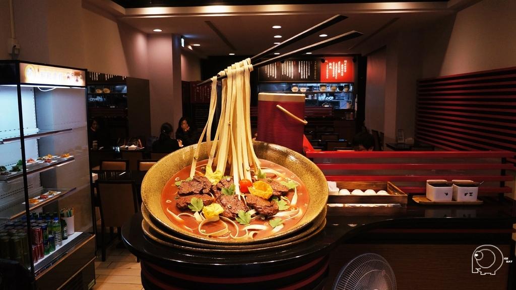 牛肉麵模型