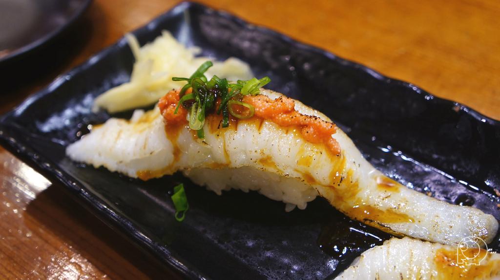 炙燒比目魚鮨邊肉握壽司