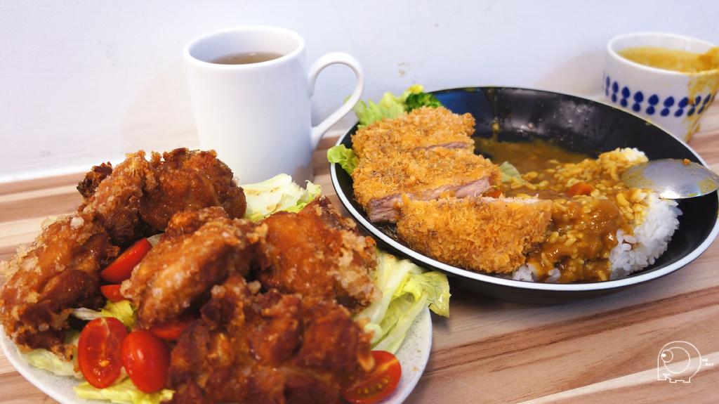 唐揚炸雞&豬排咖哩