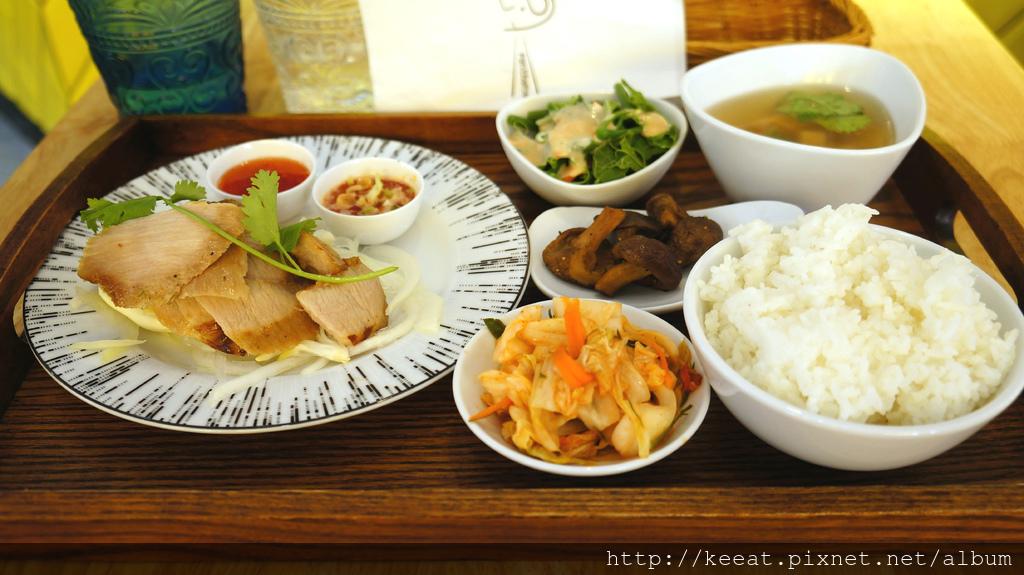 香烤松阪豬定食