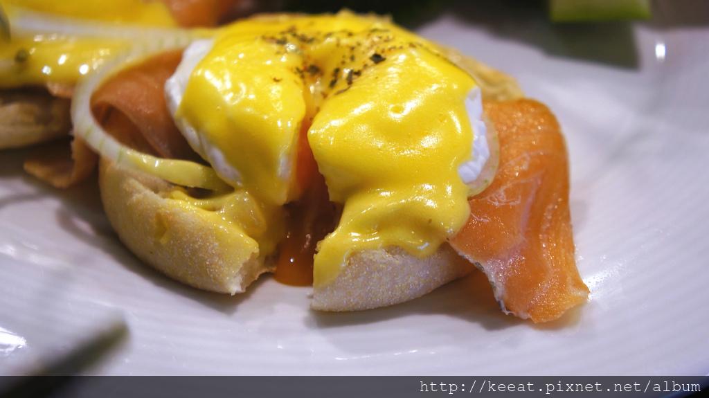 煙燻鮭魚斑尼迪克蛋