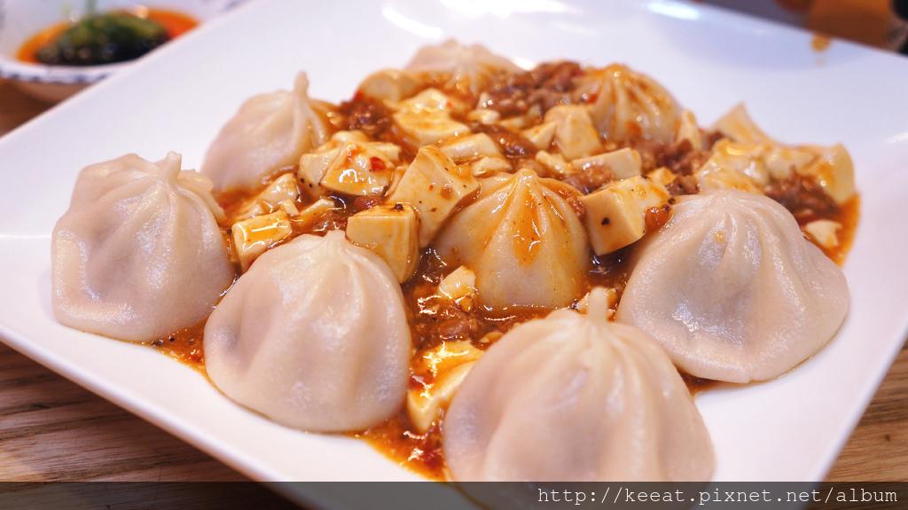 麻婆豆腐湯包