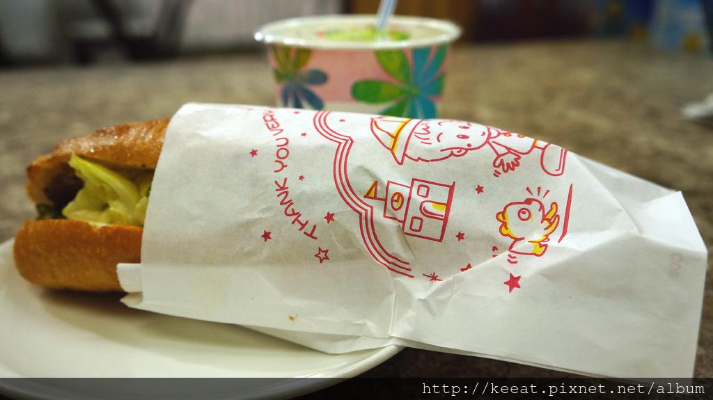 法國麵包加越式奄肉