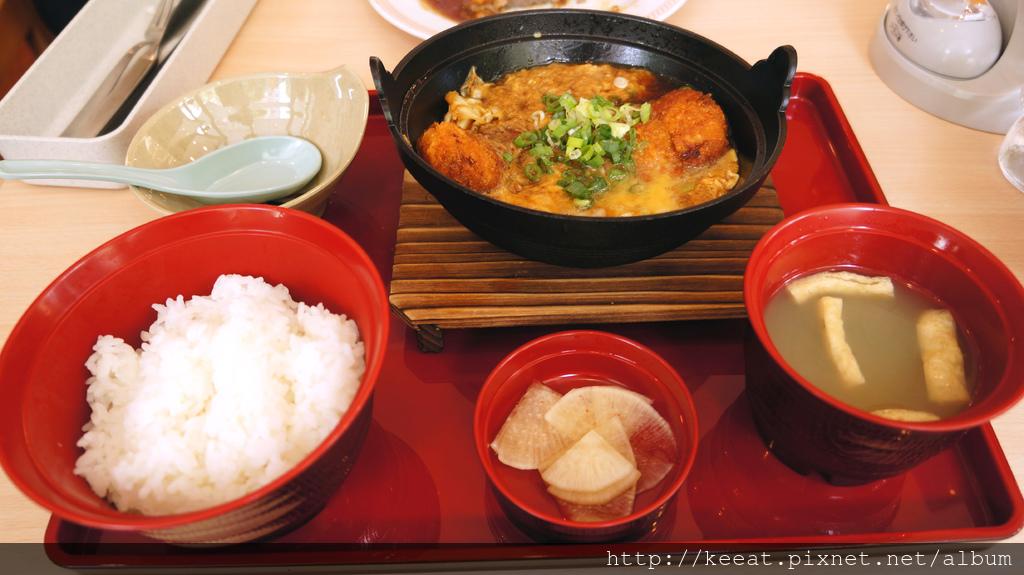 日式炸豬排煮定食