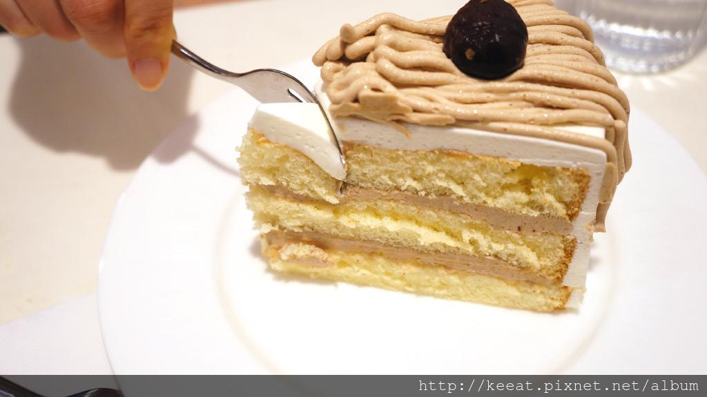 栗子戚風蛋糕