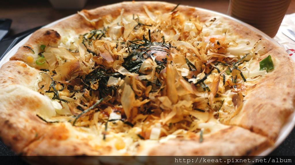 大阪燒披薩