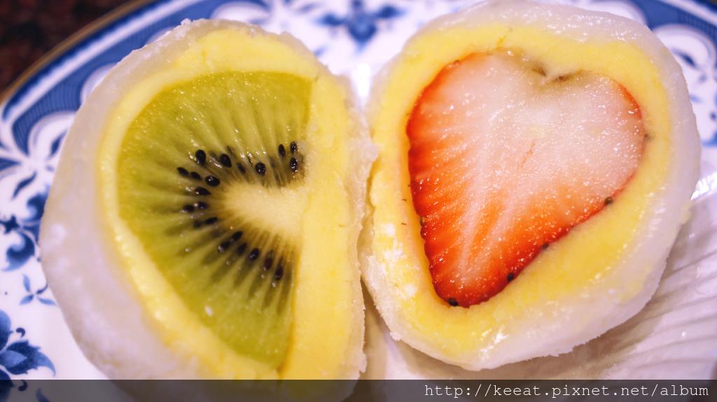 奇異果大福&草莓大福