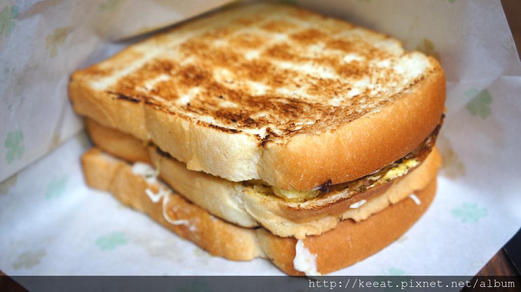 香煎肉排三明治