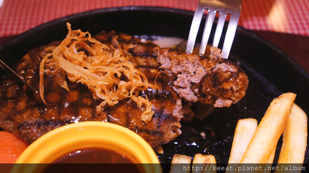 日式西洋漢堡排餐
