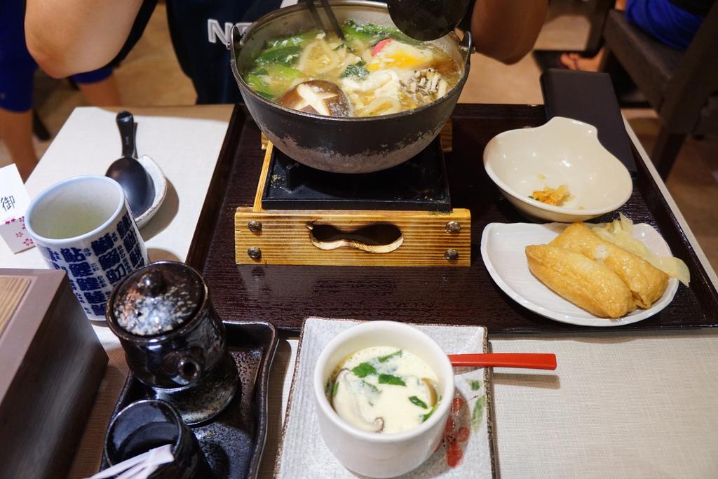 鍋燒烏龍麵+B餐