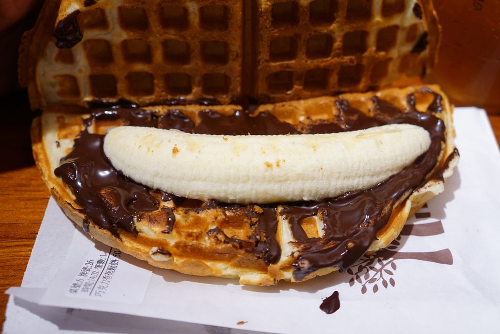 巧克力香蕉鬆餅