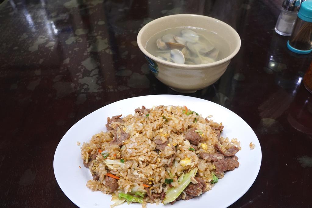 牛肉炒飯&蛤蜊湯