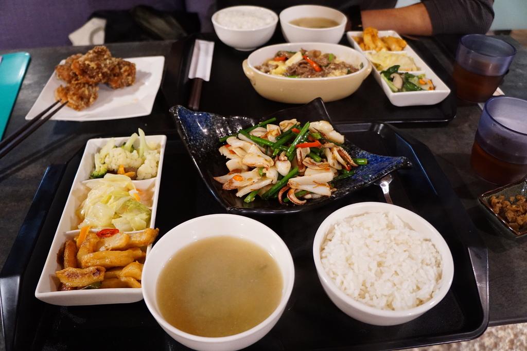 XO醬炒韭菜花船抽透抽套餐