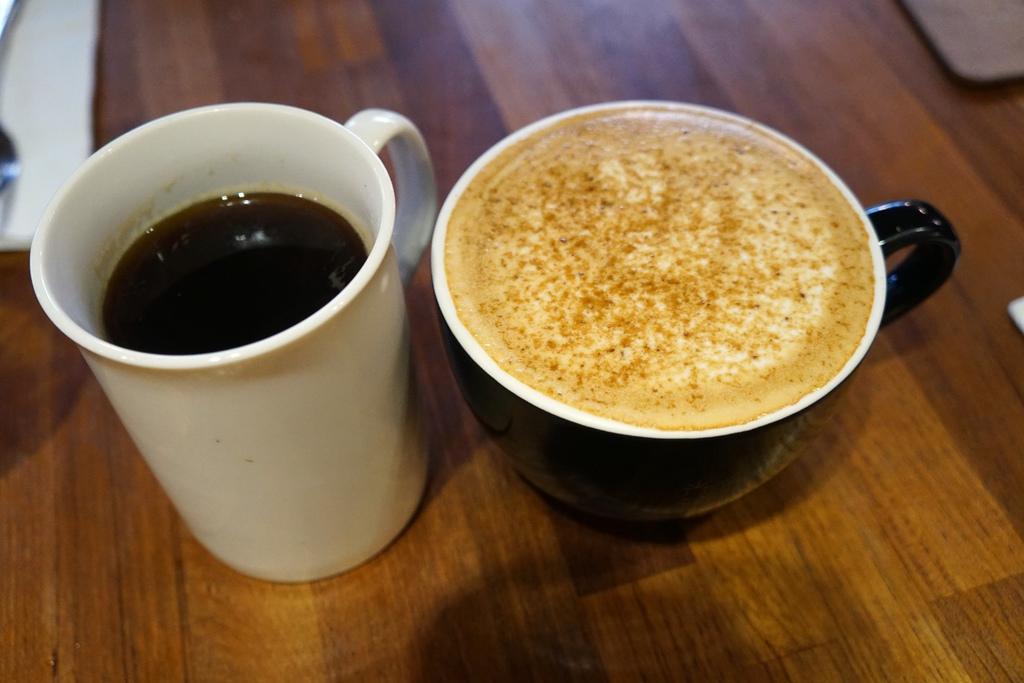 美式咖啡&黑糖瑪琪朵