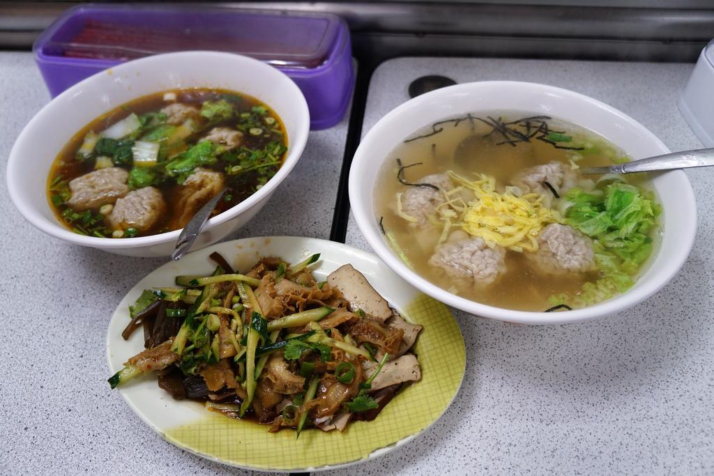 餛飩湯&小菜