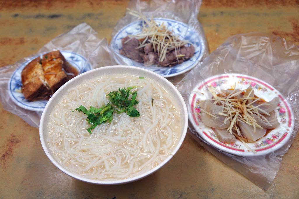 米粉湯&小菜