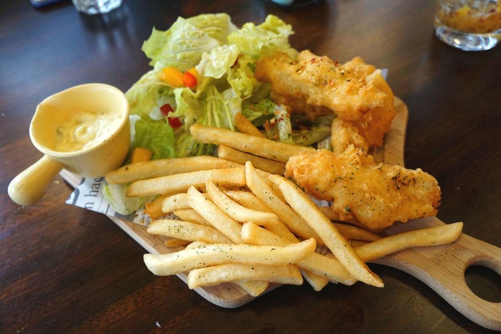 炸冰島鱈魚薯條