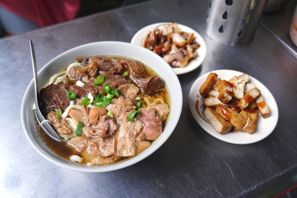 綜合麵中&小菜