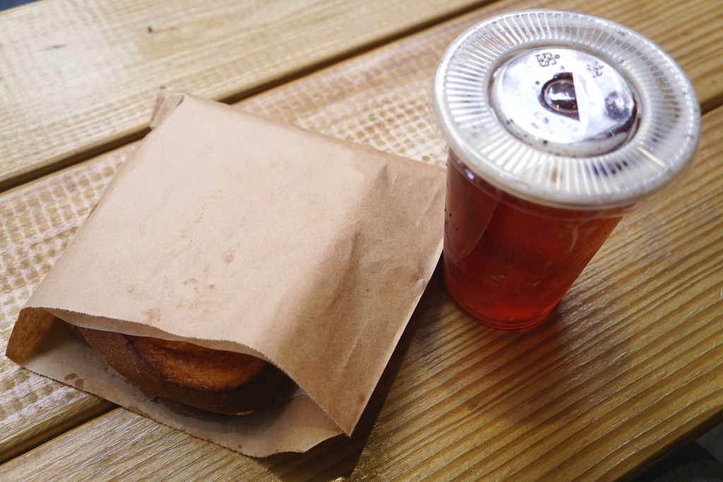 美式BBQ手撕豬肉三明治+格里歐紅茶